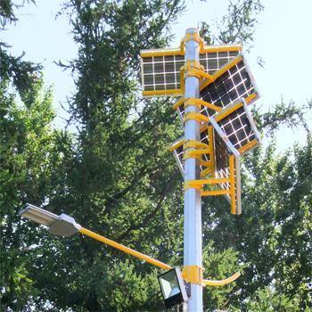Автономный фонарь на солнечных батареях