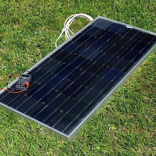 Солнечные модули для автономного уличного осветителя